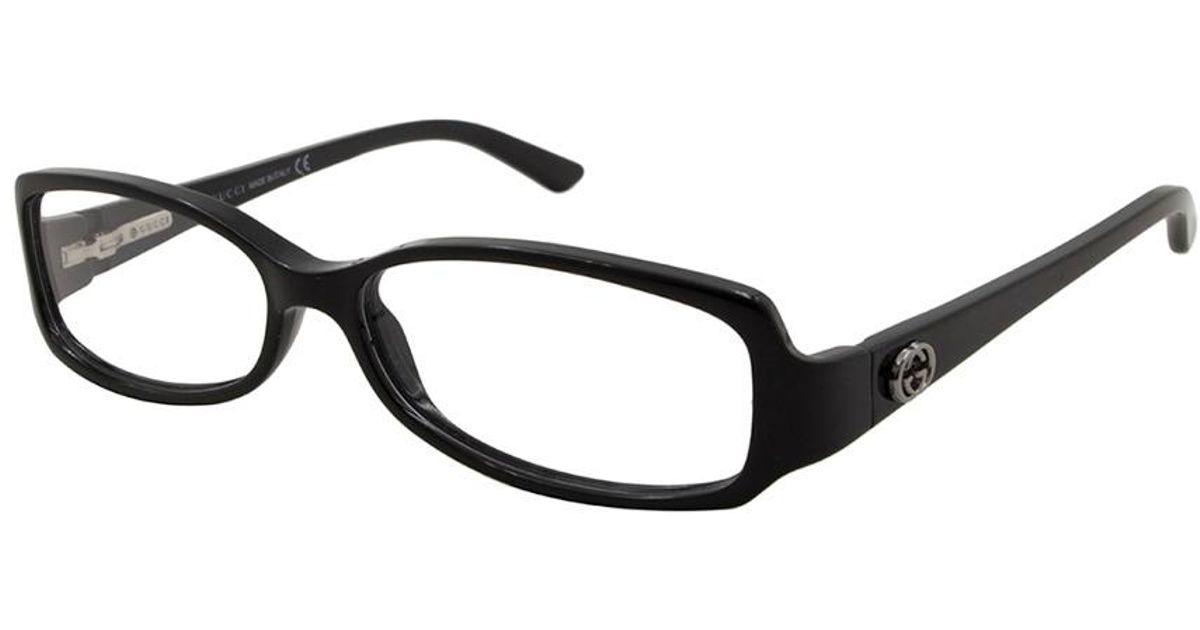 Lyst - Gucci Women\'s Gg3001 53mm Optical Frames