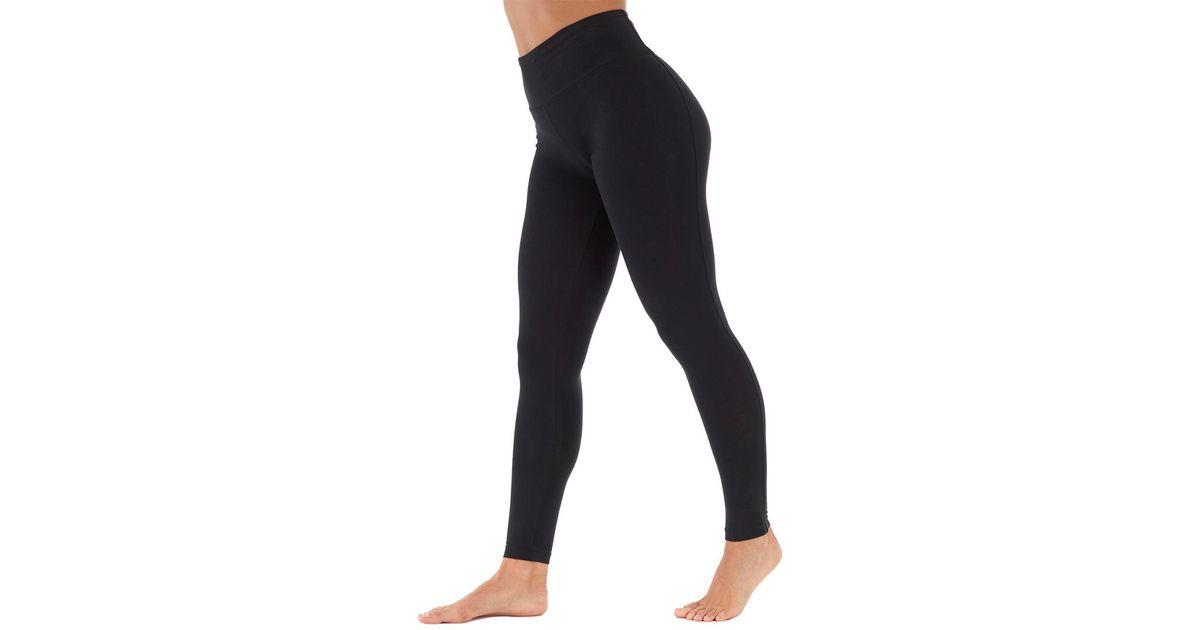 2bbcf211b0c51 Bally Total Fitness High-rise Tummy Control Legging in Black - Lyst