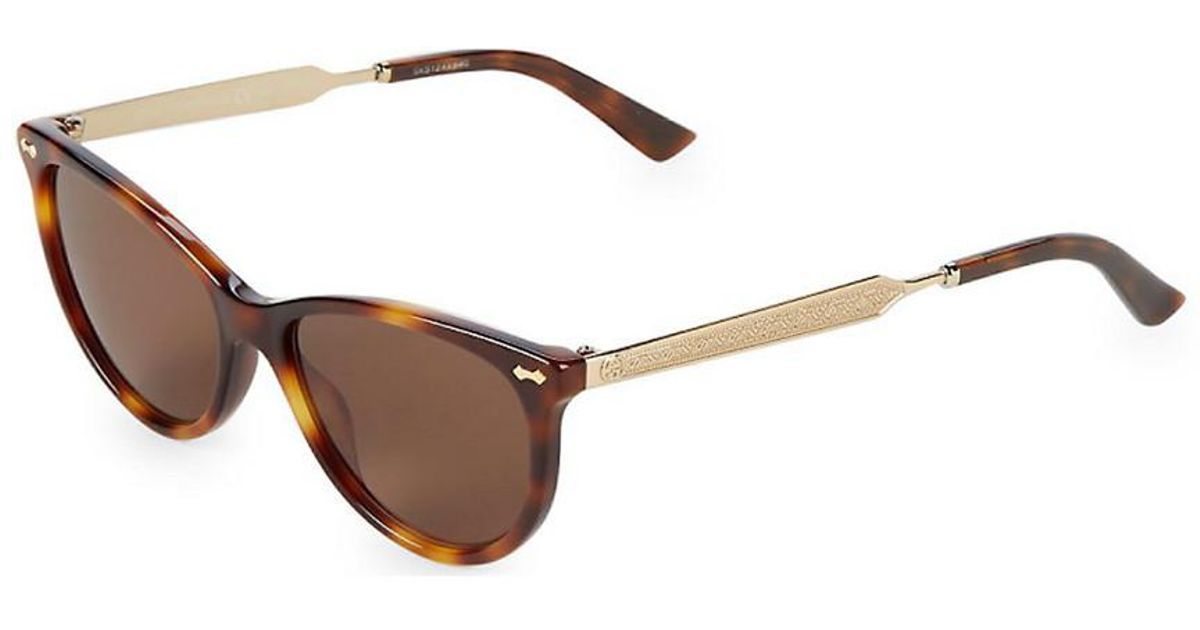fc1ed091ef7 Lyst - Gucci GG 3818 50mm Polarized Sunglasses in Brown