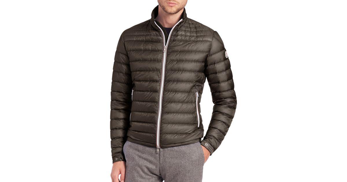 moncler jacket daniel khaki