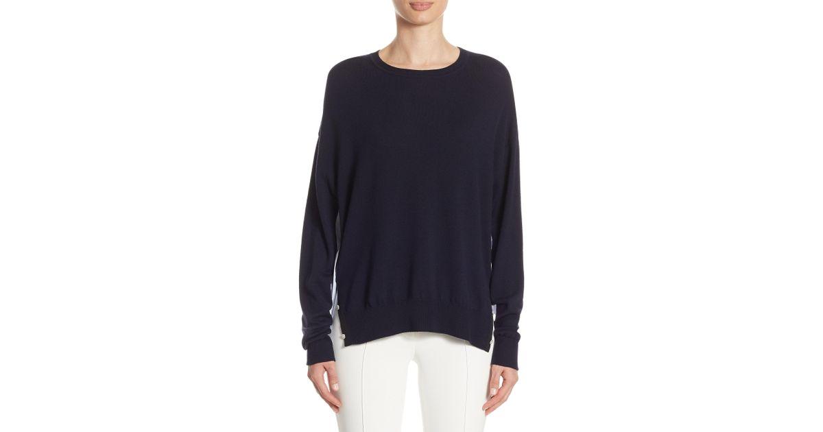 buy popular 890bf 264e4 adam-lippes-navy-Merino-Wool-Sweater.jpeg