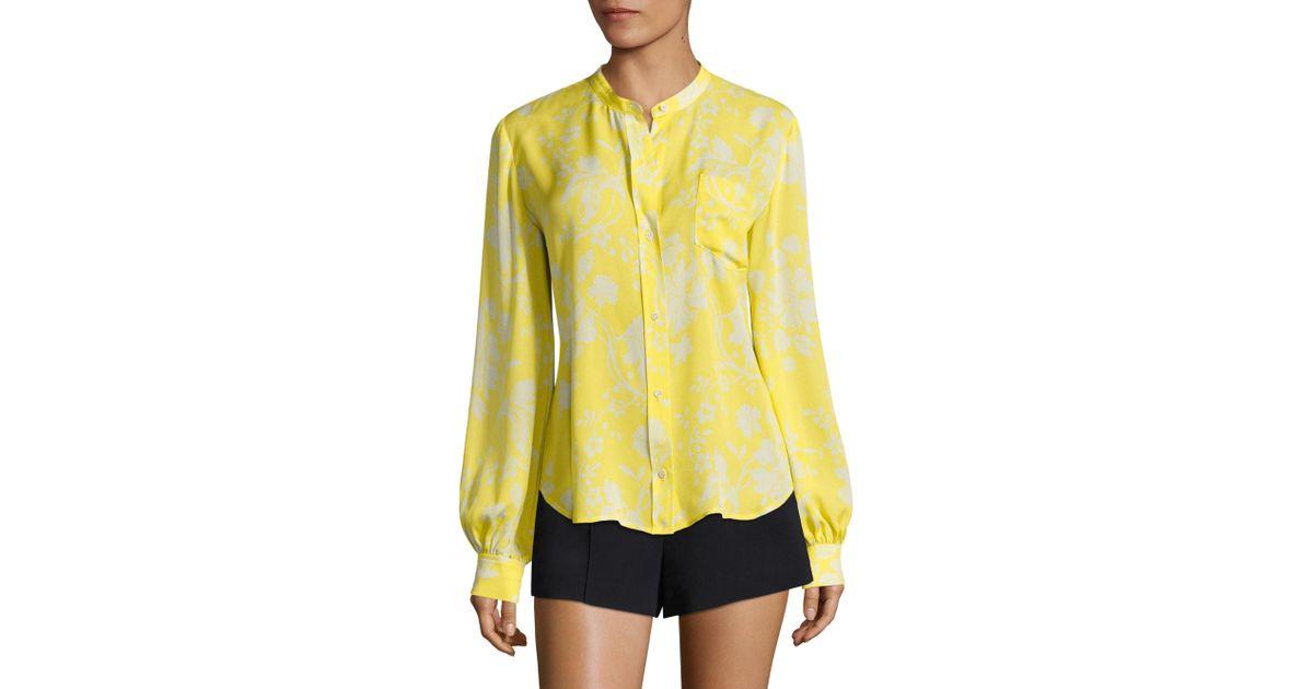 A.L.C. floral print blouse Cheap Sale Browse Discount Codes Clearance Store Outlet Geniue Stockist T2Lirjk