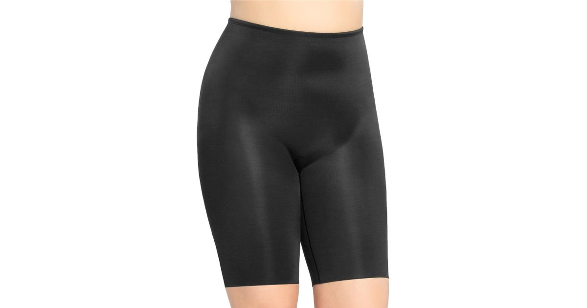 e1eef37d744 Lyst - Spanx Extended Length Power Panty in Black