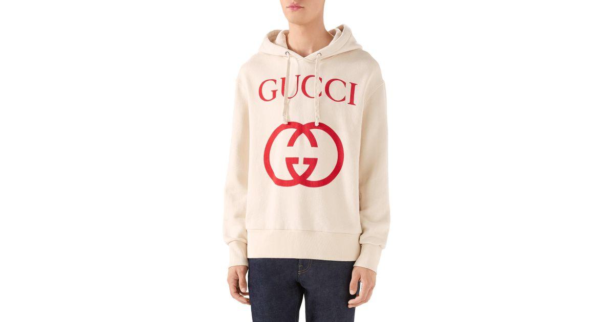 0b3074c2a18 Lyst - Gucci Logo Sweatshirt for Men