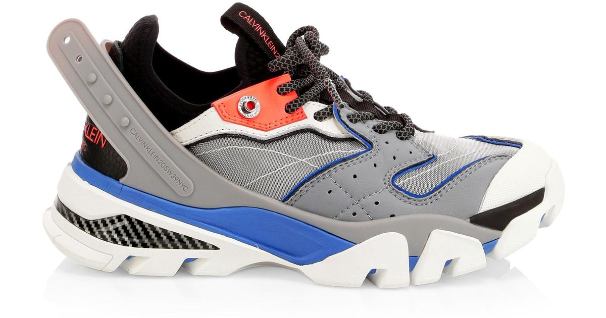 Calvin Sneakers Carla Chunky Lyst Multicolor Klein 205w39nyc y6gb7f