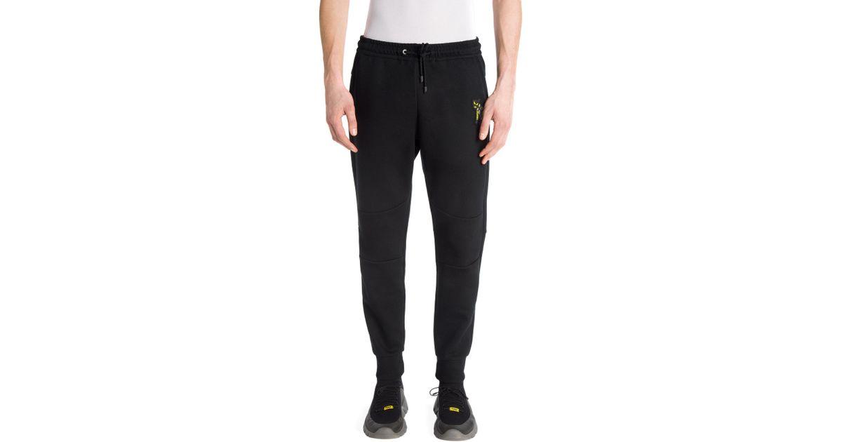 8d7056383fa4 Fendi Tri-moto Jogger Pants in Black for Men - Lyst