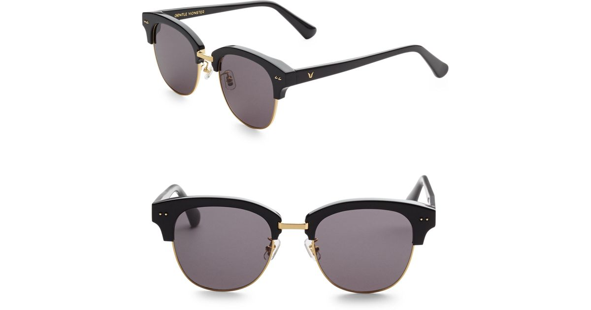 8e36fe9f09b0 Lyst - Gentle Monster Second Boss Clubmaster Sunglasses in Black for Men