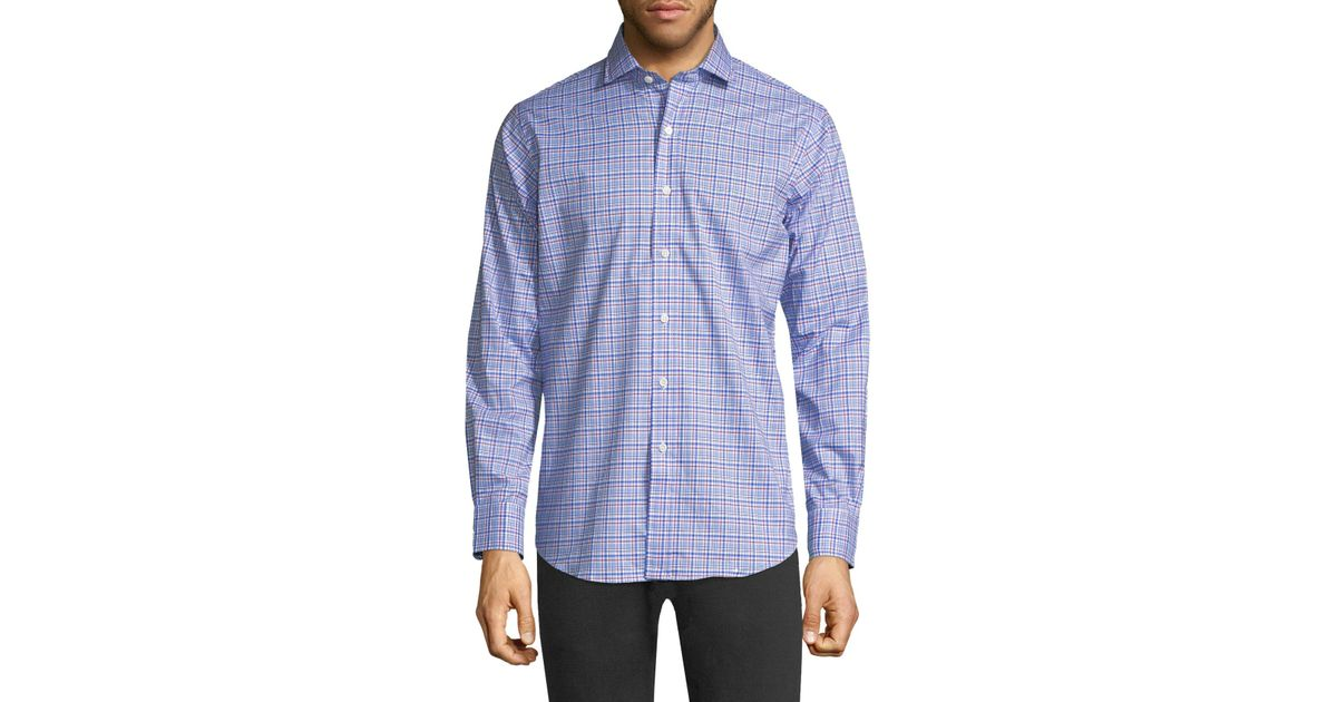 Lyst Polo Ralph Lauren Cotton Check Casual Button Down