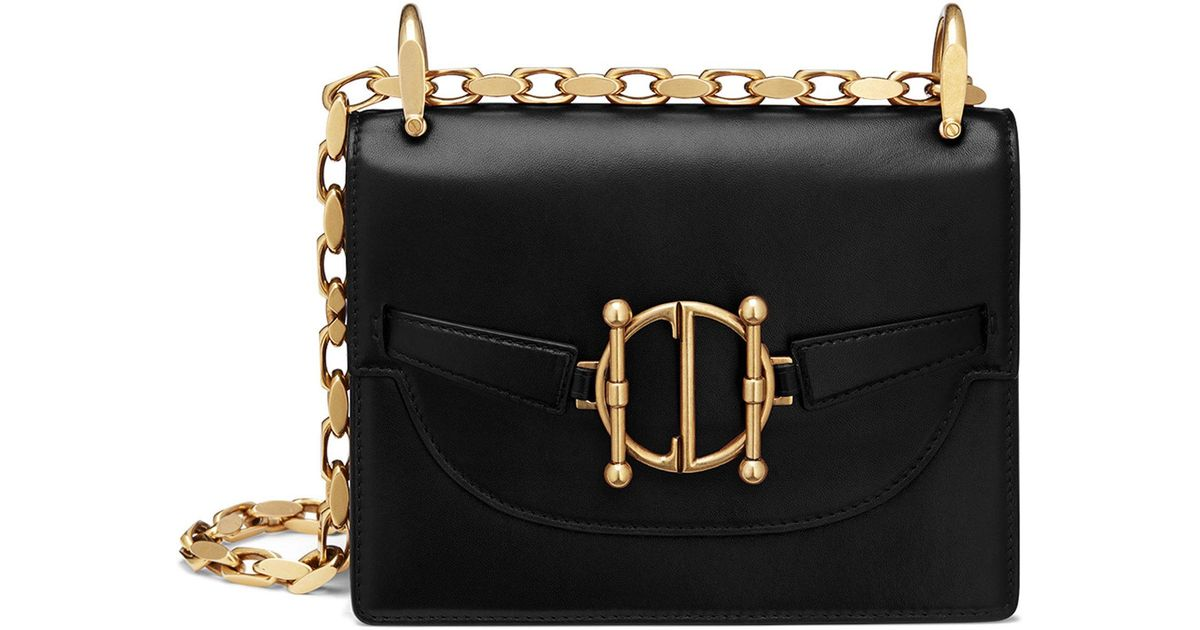 69e7336a70c Lyst - Dior Leather Direction Flap Bag in Black
