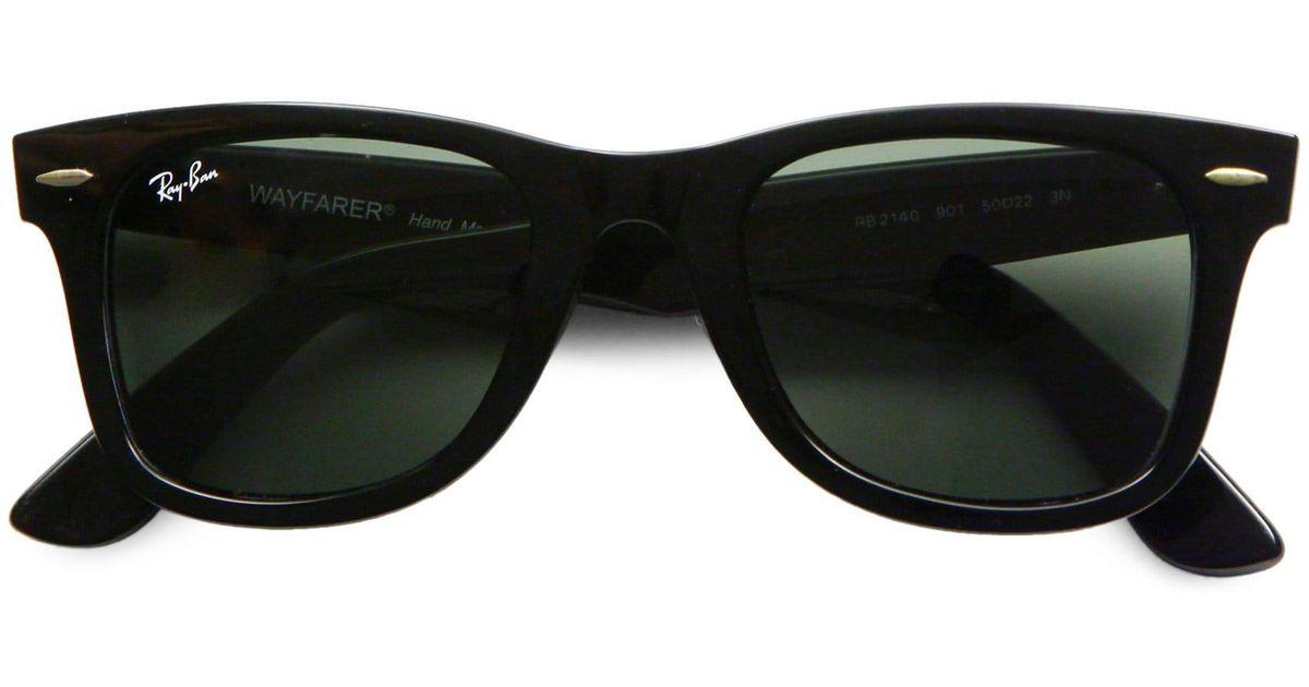 884380e6dc Ray-Ban Men s 55mm Classic Wayfarer Sunglasses - Dark Tortoise in Black for  Men - Lyst