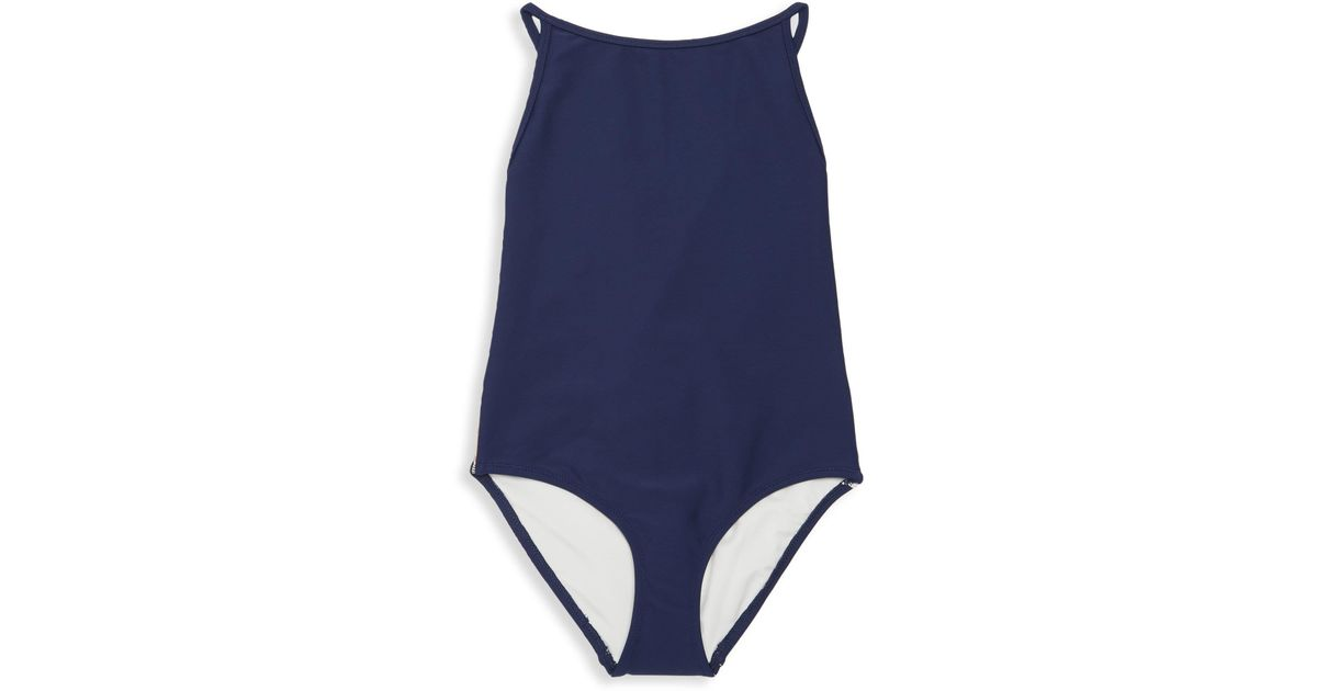 f26c5846a1 Burberry Little Girl's & Girl's One-piece Sandine Swimsuit in Blue - Lyst
