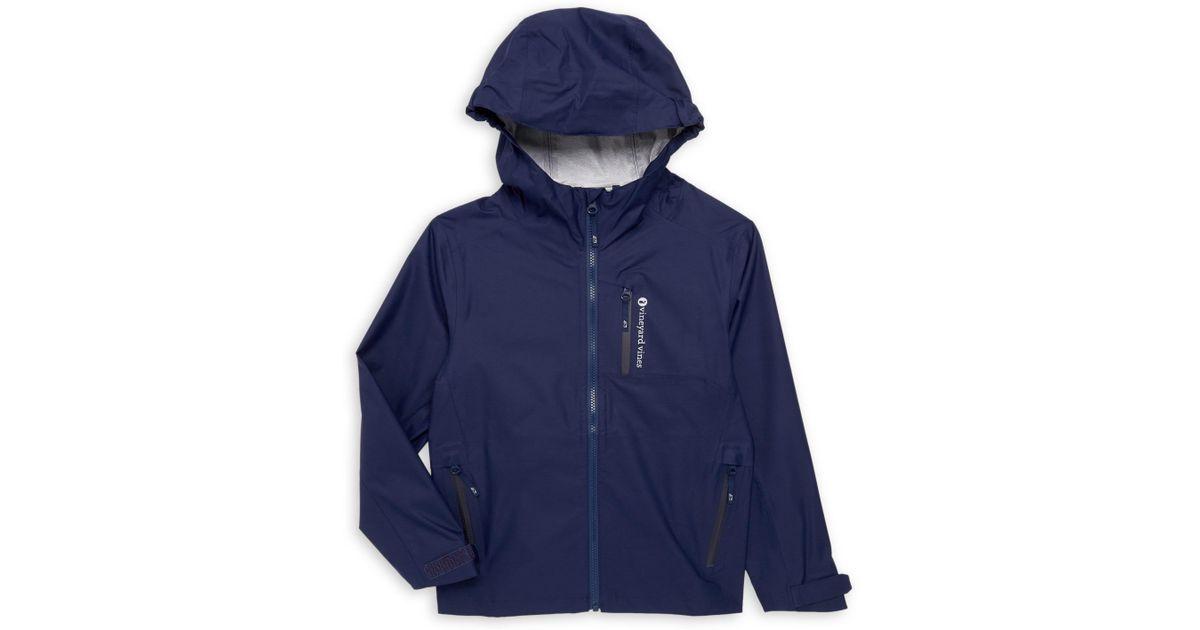 Vineyard Vines Performance Channel Marker Jacket Moonshine color Mens Sz Small