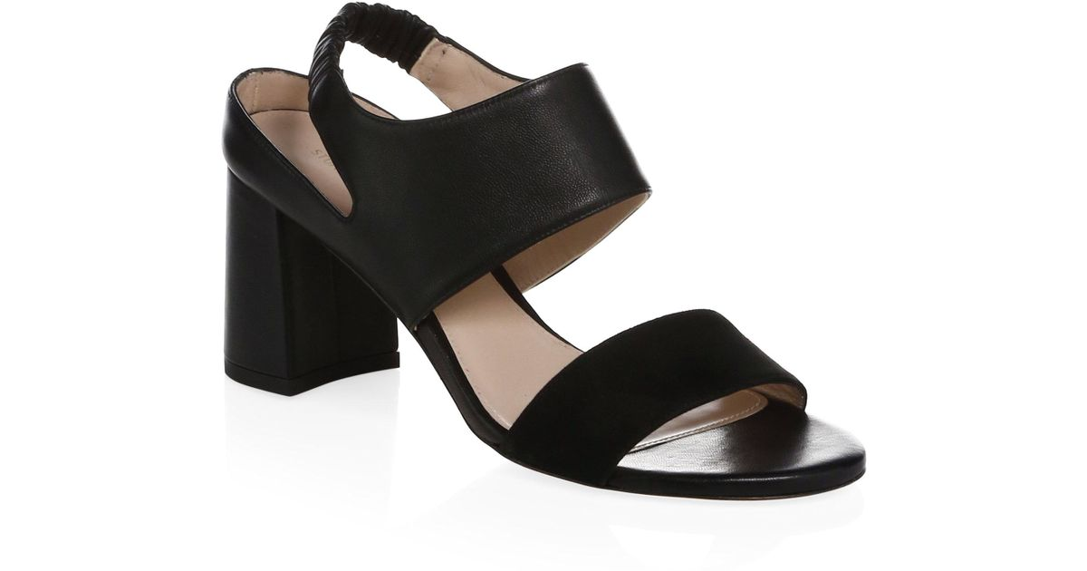 Stuart Weitzman Elasticized Crossover Sandals order cheap price cheap sale under $60 under $60 cheap online DA7V599LS