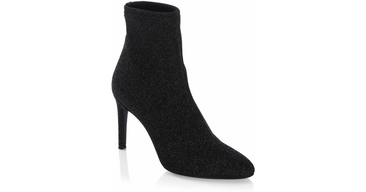 Giuseppe Zanotti Glitter Lurex Ankle Boots hOyTKEcuHT