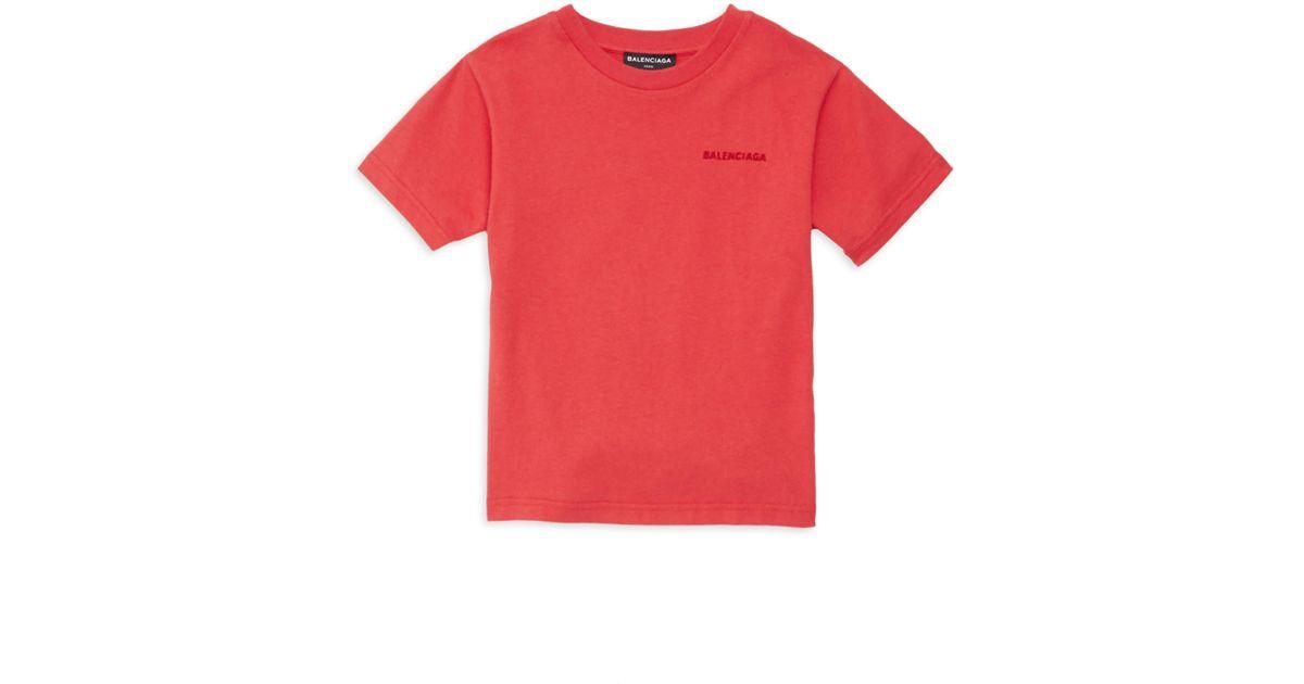 be2af304b138 Lyst - Balenciaga Little Kid's & Kid's Heavy Jersey Tee for Men
