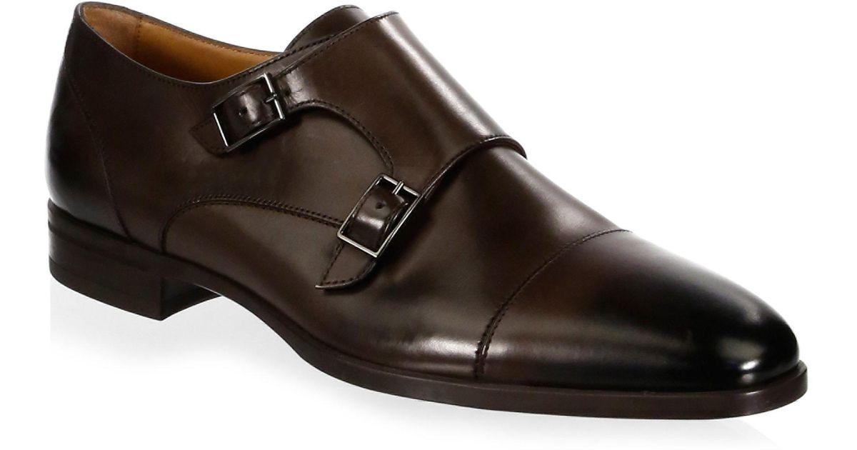 HUGO BOSSKensington Leather Double Monk-Strap Shoes wDj3ibE5a