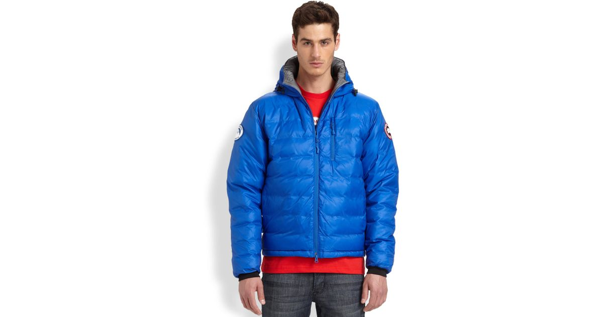 Lyst - Canada Goose Pbi Lodge Hoody in Blue for Men 896399974