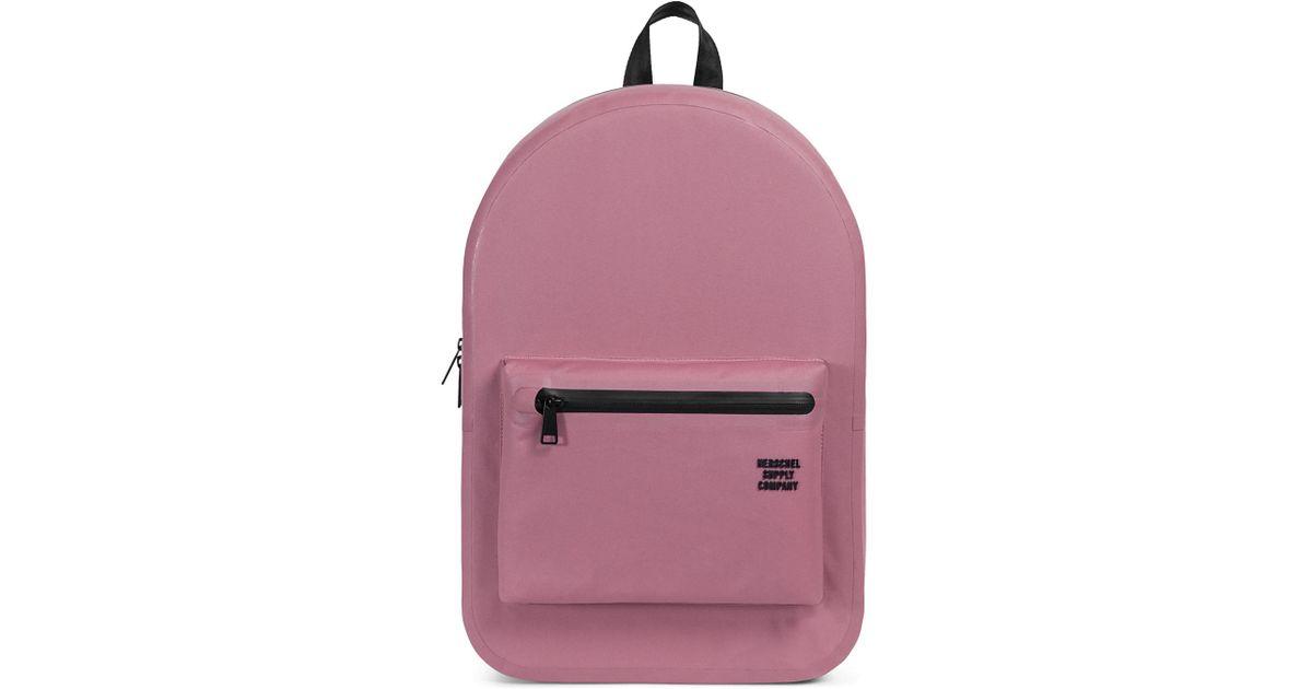 07d509a0e1c Herschel Supply Co. Men s Settlement Tarpaulin Backpack - Ash Rose in Pink  for Men - Save 59% - Lyst