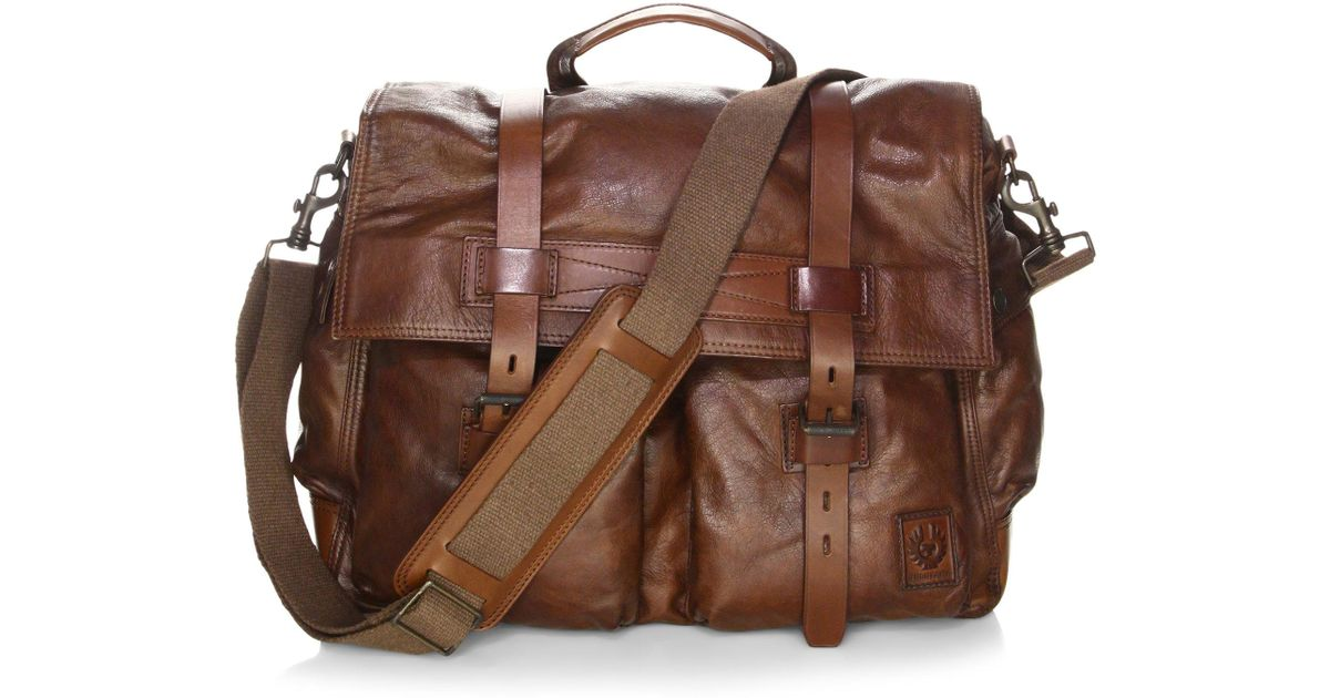 ff017dcb22 Belstaff Colonial Messenger Bag in Brown for Men - Lyst