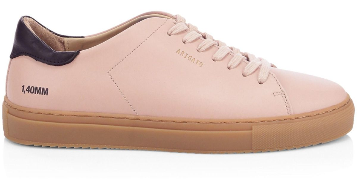 13d9aeb0008b Lyst - Axel Arigato Clean Leather Sneakers in Pink for Men