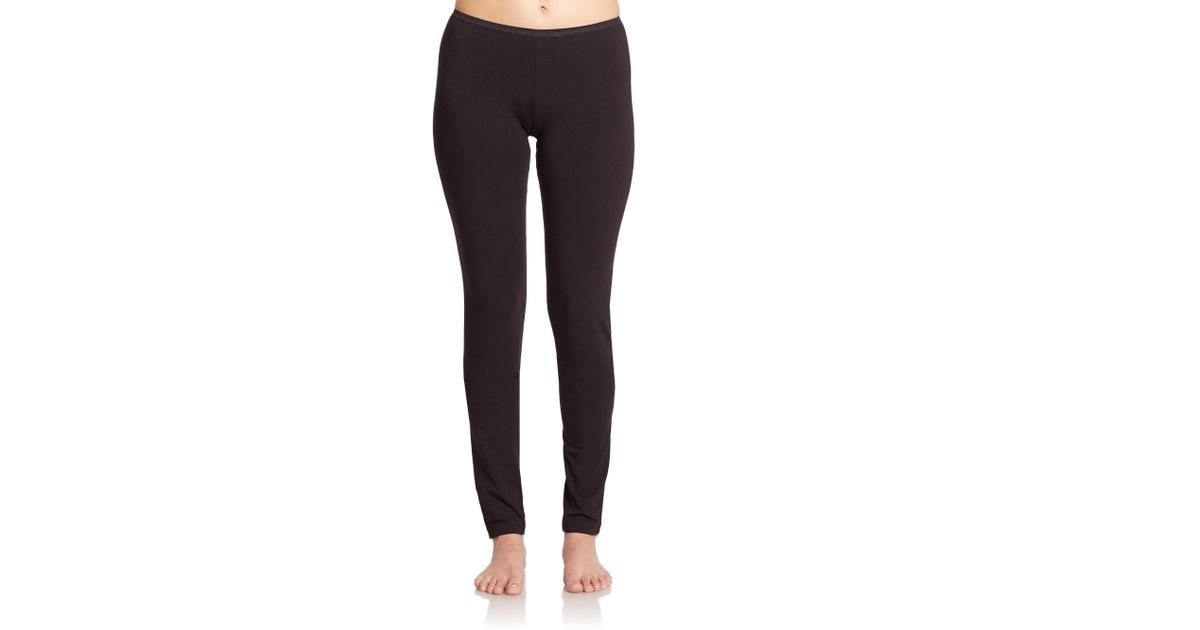 Lyst - La Perla New Project Leggings in Black 087e7293c