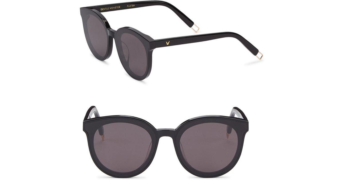 f3774fe3ec69 Lyst - Gentle Monster Peter 41mm Round Sunglasses in Black for Men