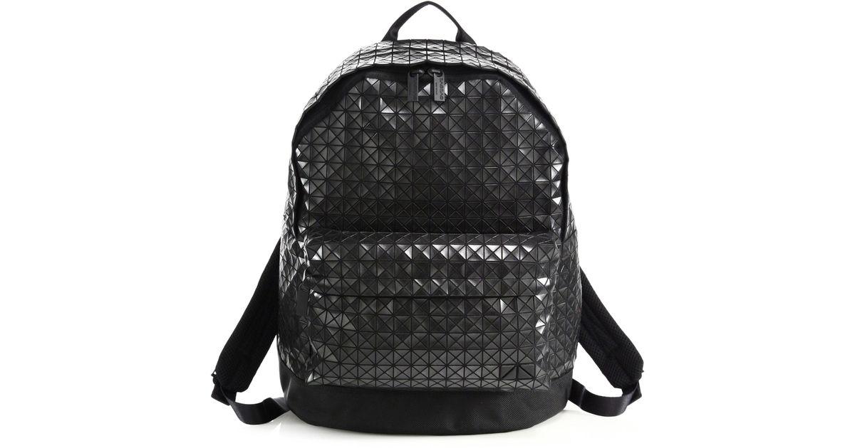 Lyst - Bao Bao Issey Miyake Daypack Backpack in Black 935882c4581d9