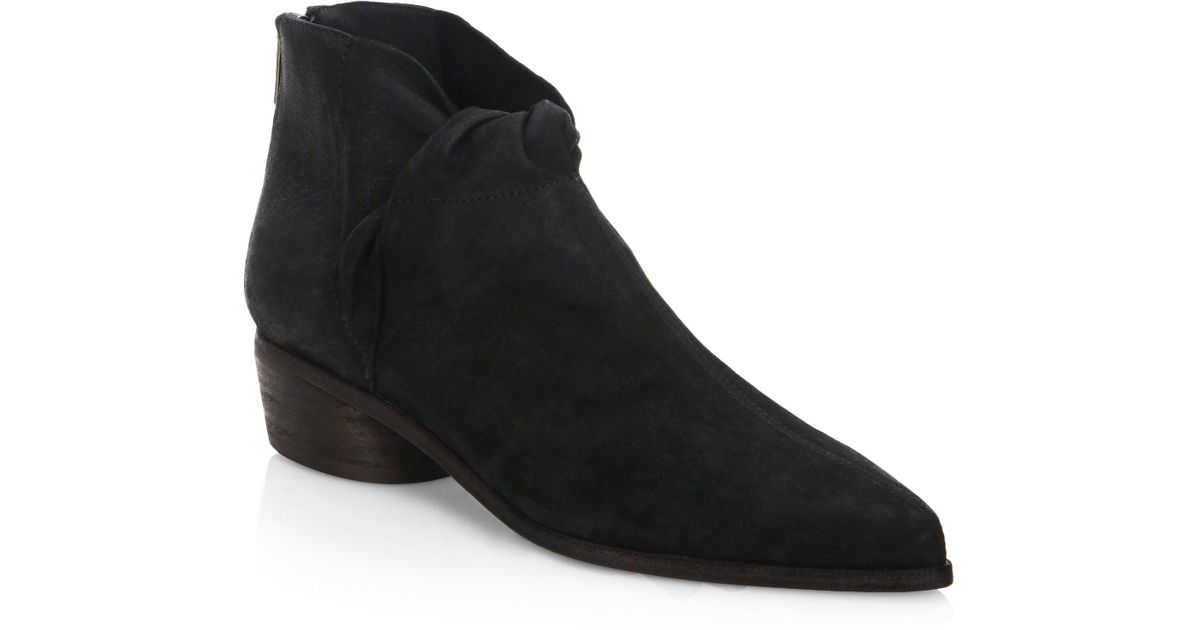 LD Tuttle The Marble Leather Booties e2CDN