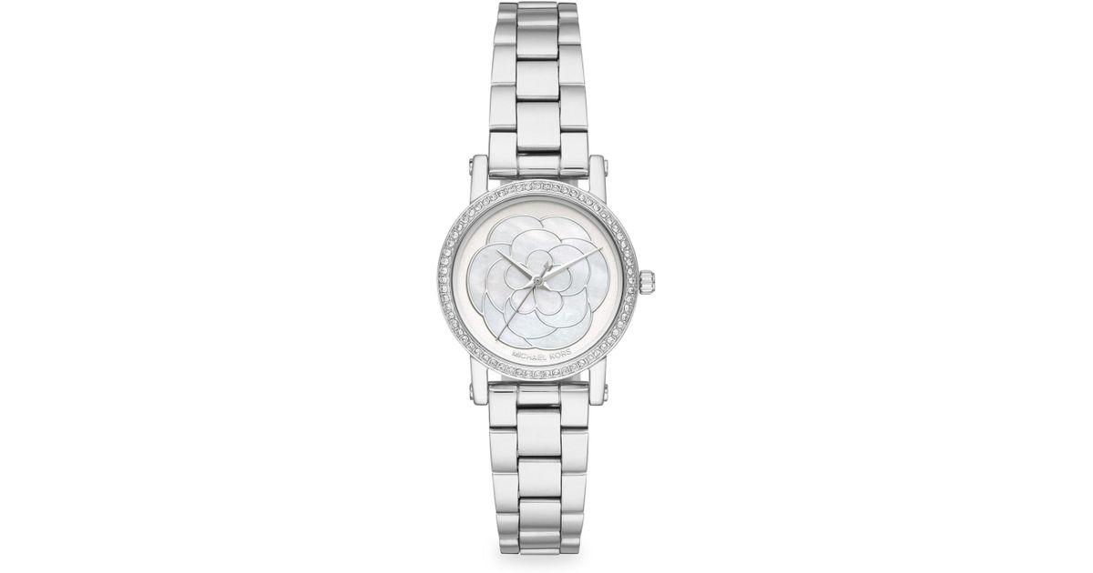 8245ad9eae52 Michael Kors Women s Petite Norie Bracelet Watch