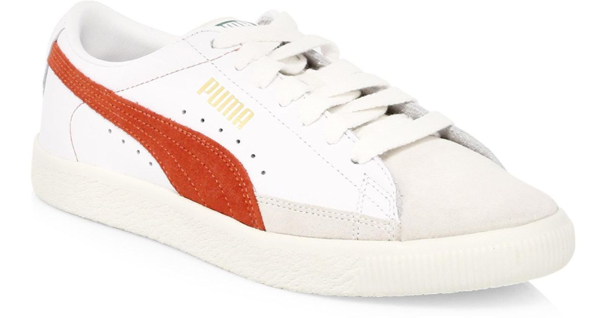 Puma Basket Suede Low-Top Sneakers