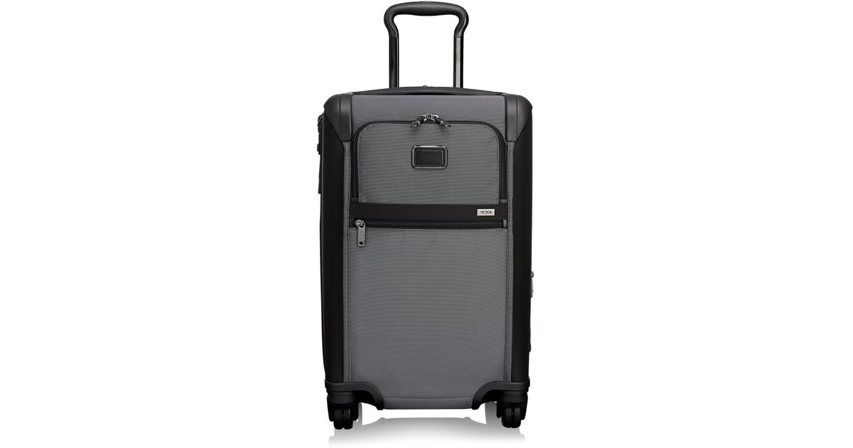96e68c03d3 Lyst - Tumi Alpha International Expandable Four-wheel Carry On in Blue for  Men