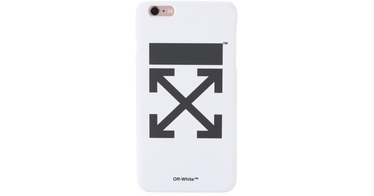 Lyst - Off-White c o Virgil Abloh Arrow Iphone 6 Plus Iphone Case in White bffcf8ba7
