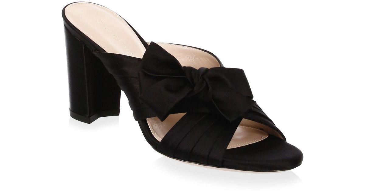 Stuart Weitzman Ribbon Satin Sandals t2Ngxkgx
