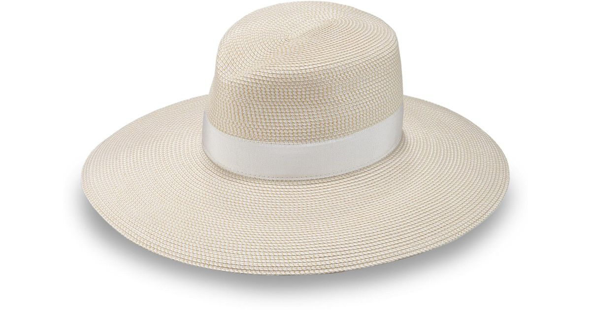 ef964832e665b9 Lyst - Eric Javits Women's Daphne Wide-brimmed Fedora - Natural in Natural