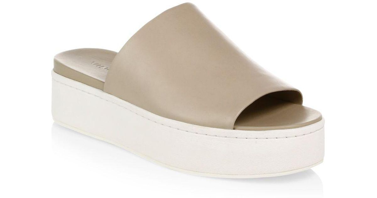 29a4a88184a Lyst - Vince Walford Slide-on Suede Espadrilles