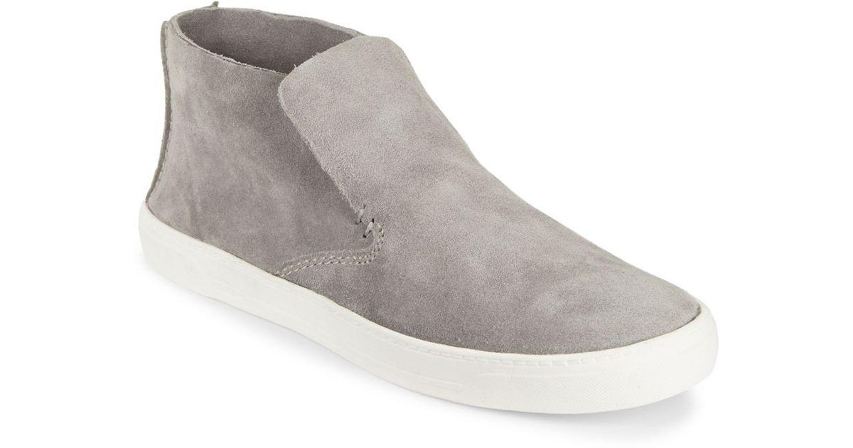 32e720f0104dfe Lyst - Dolce Vita Xai Suede High-top Sneakers in Gray