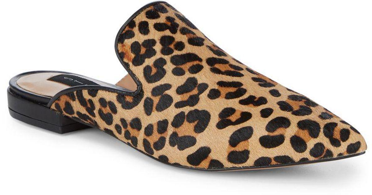 64f967560ee Lyst - Steven by Steve Madden Leopard-print Slides in Brown