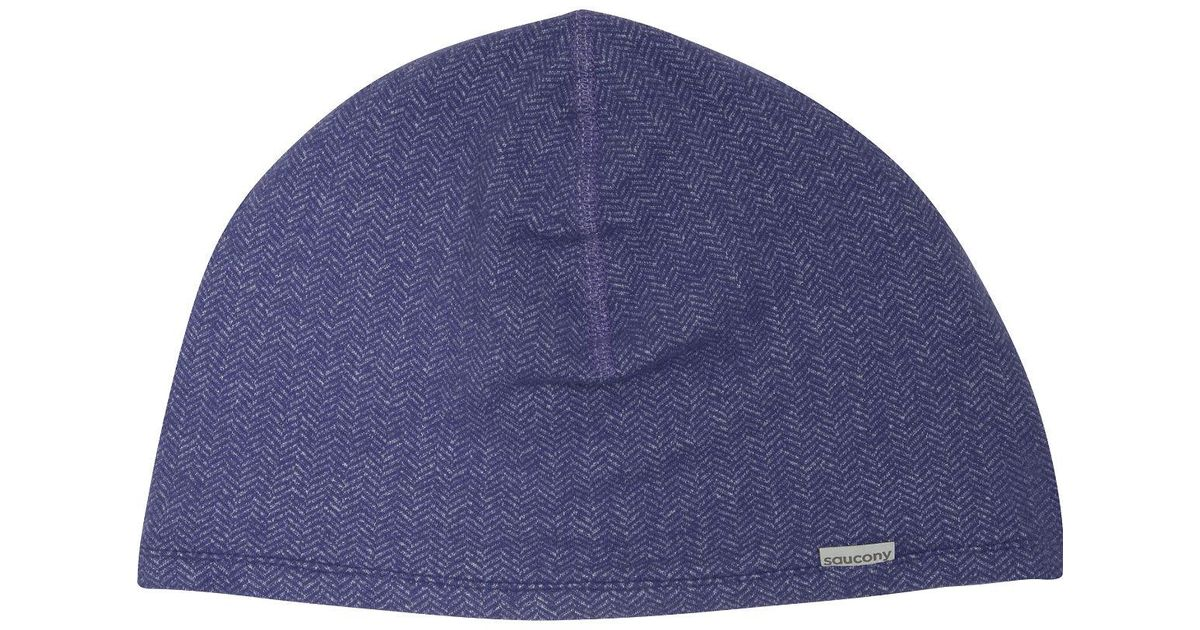797dc4be285 Lyst - Saucony Brisk Skull Cap in Blue for Men