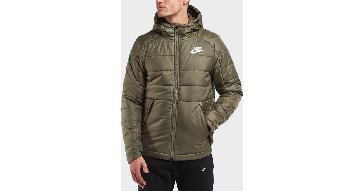 0d10f4eb1651 Lyst - Nike Bubble Jacket in Green for Men