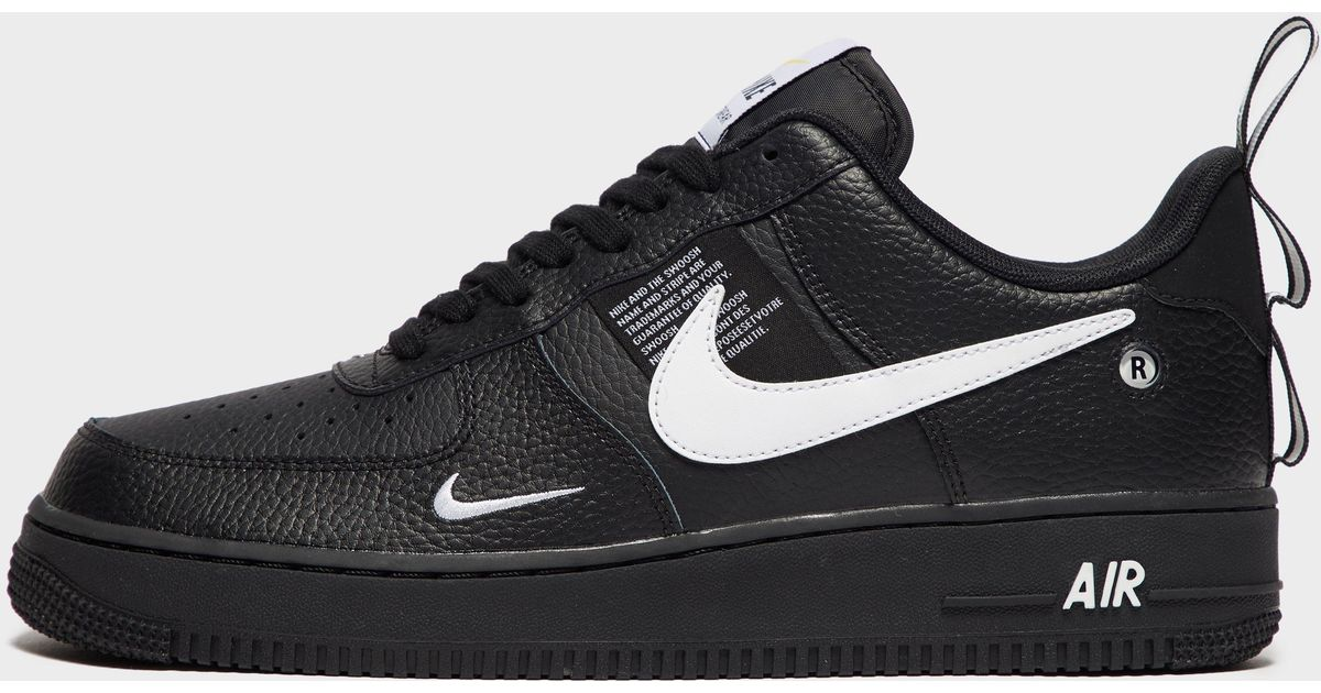 56228fb3964b58 Lyst - Nike Air Force 1  07 Lv8 Utility Low in Black for Men