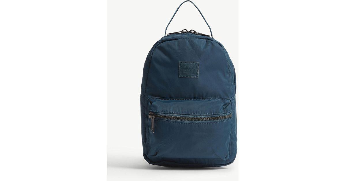 64ac4a81a7 Herschel Supply Co. . Deep Teal Blue Nova Mini Backpack in Blue for Men -  Lyst