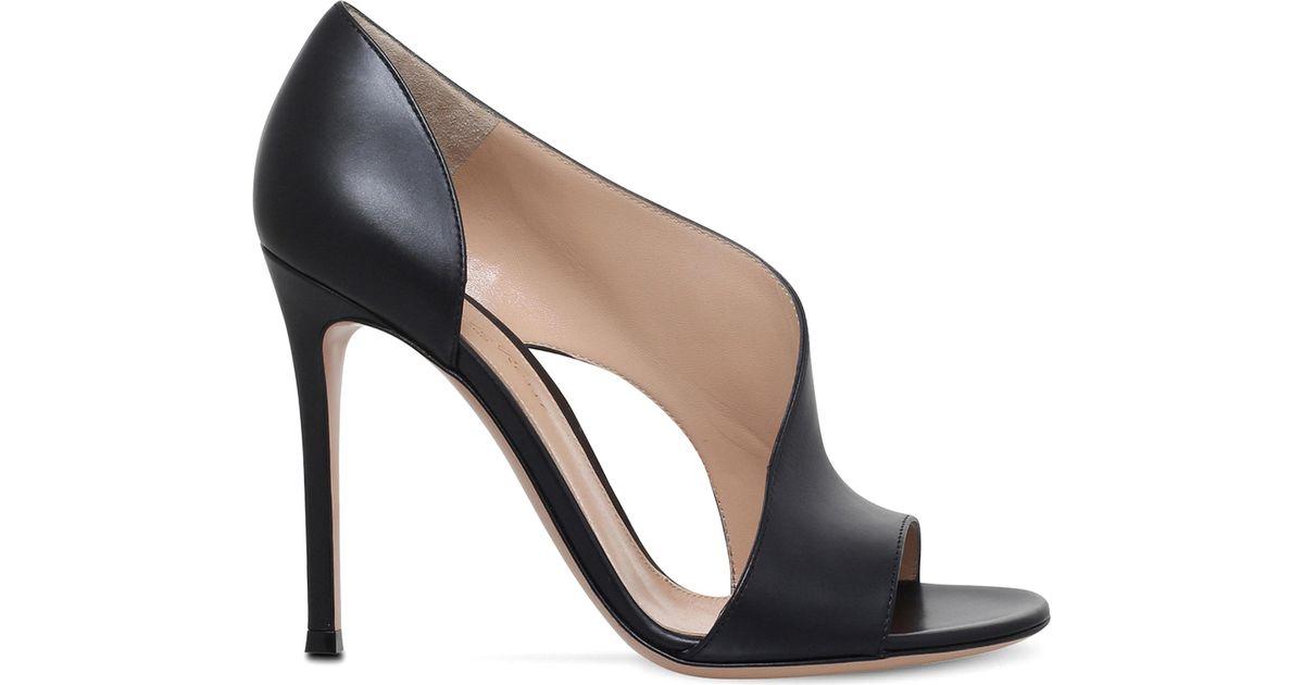 Gianvito Rossi Demi leather sandals JUZdN49v