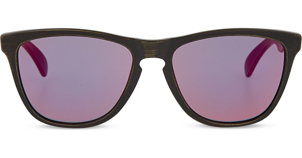 7cac4cd62216 Oakley Square Sunglasses in Metallic for Men - Lyst