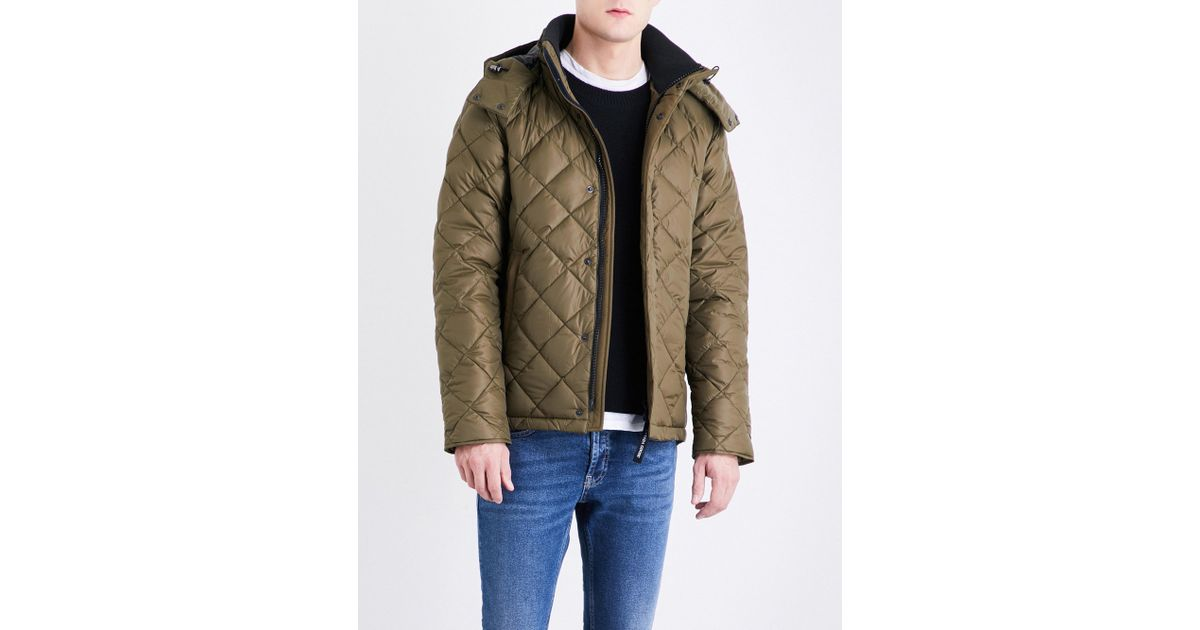 canada goose quilted parka
