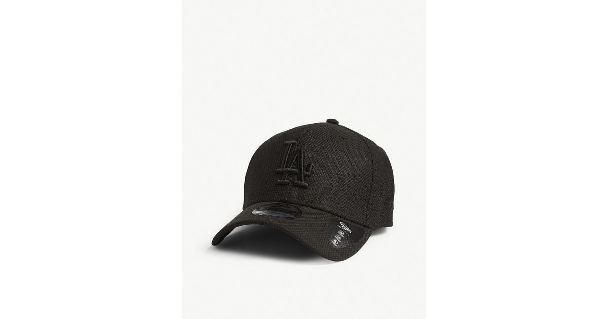 5d204cad583d2 Ktz Los Angeles Dodgers 39thirty Baseball Cap in Black for Men - Lyst