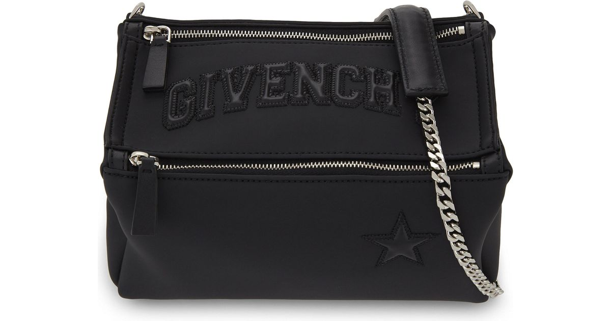 f0bbd6690724 PreviousNext info  Givenchy Mini Pandora Rubberised Leather Cross-body Bag  in B big sale 5fa9d c132d ...