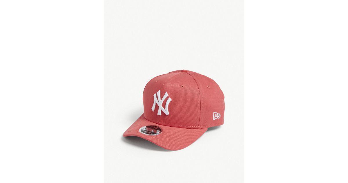 869f381a392 australia lyst ktz 9fifty new york yankees snapback cap in red for men  6b7e9 78846