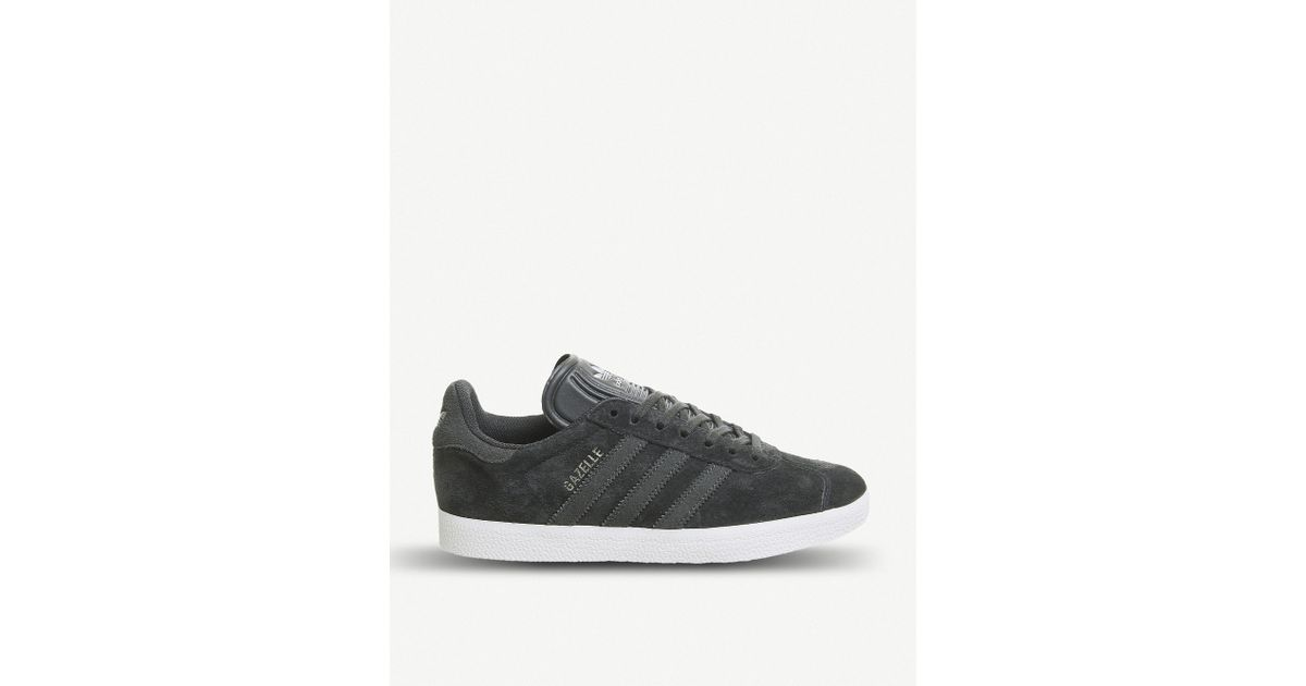 adidas Gazelle Suede Trainers in Gray for Men - Lyst 292c3b818