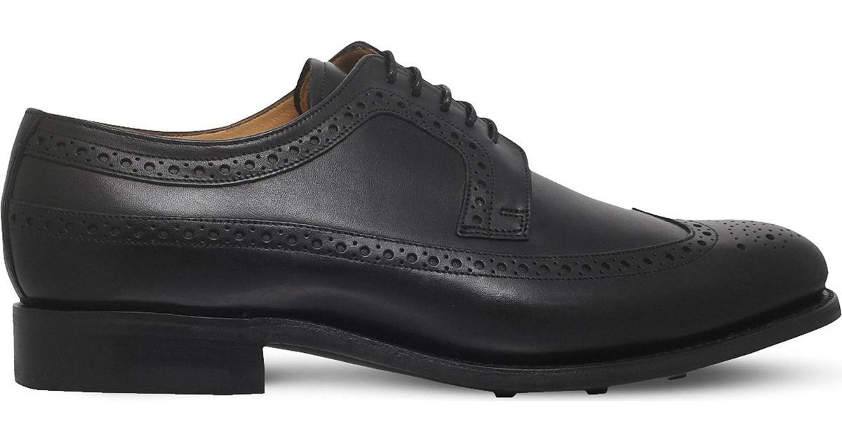 Barker Black Shoes New York