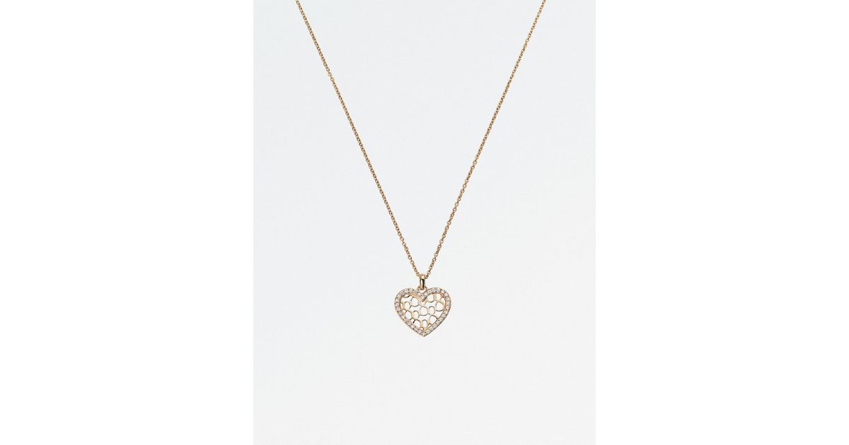 Lyst bucherer jewellery infinite love 18ct rose gold diamond lyst bucherer jewellery infinite love 18ct rose gold diamond pendant necklace in pink mozeypictures Image collections
